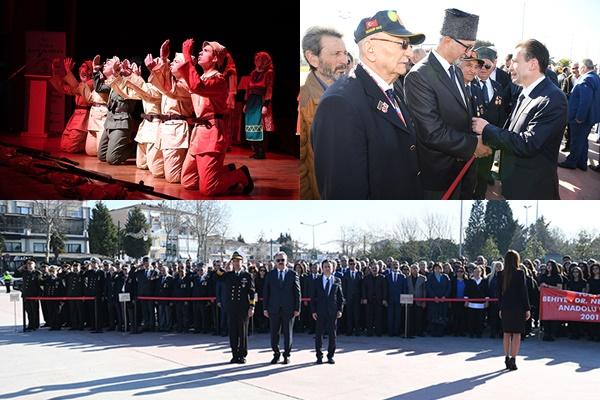 Tuzla, Çanakkale Zaferi'nin 104. Yıldönümünde Şehitlerimizi Minnetle Andı