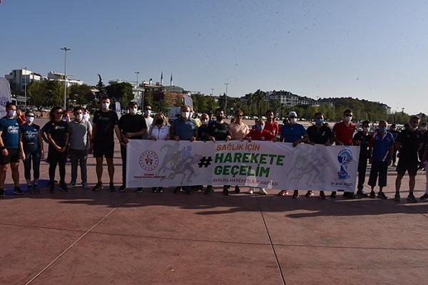 Avrupa Hareketlilik Haftası'nda Tuzla' da Spor Etkinliği Düzenlendi