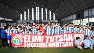 Engelsiz Tuzla'da Özel Maç