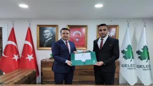 Gelecek Partisi Tuzla İlçe Başkanı Gökhan Özkan Oldu