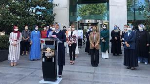 AK Parti Kadın Kolları 81 İlde Abdurrahman Dilipak'a Suç Duyurusunda Bulundu