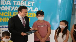 Askıda Tablet ile Kesintisiz Eğitime Tam Destek