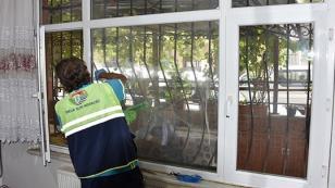İhtiyaç Sahibi Vatandaşların Evleri Dezenfekte Ediliyor