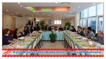 Anadolu Yakası Kent Konseyleri Başkanları Tuzla'da Buluştu