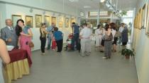 Ressam Nedim Bilgiç resim sergisini Tuzla'da açtı