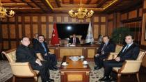 Orhan Baba Başkan Yazıcı'yı ziyaret etti