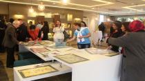 Mimar Hale İş Ebru Sergisi Açıldı
