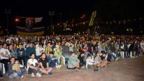 Tuzla Belediyesi, Fenerbahçe'nin Final Four Heyecanını Led Ekrandan Yaşattı