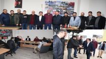 Başkan Yazıcı, Nevşehir Genç Suvermezliler Derneğini Ziyaret Etti