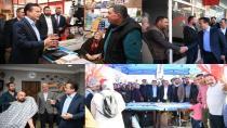 Başkan Yazıcı Aydıntepe ve İçmeler Mahallelerinde Esnaf Ziyareti Yaptı