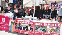 Tuzla'da İhtiyaç Sahibi Kadınlar Üreterek Kazanıyor