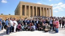 Gönül Elleri Çarşısı, Şehit ve Gazi Ailelerine Ankara Gezisi Düzenledi