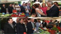 Binali Yıldırım Tuzla'da Pazar Esnafını Ziyaret Etti