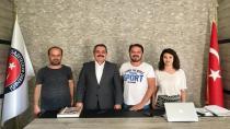 Suat Durak'tan İstanbul Avrasya Gazeteciler Derneğine Ziyaret