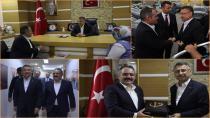 Cumhurbaşkanı Yardımcısı Oktay, Tuzla'da Ziyaretler Yaptı