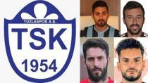 Tuzlaspor'dan 4 Yeni Transfer