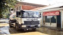 Tuzla Belediyesi, Düzce'de Selden Etkilenen Köylerde Çalışmalara Destek Veriyor
