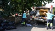 Tuzla Belediyesi Ekipleri Çöp Evi Temizledi