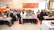 Tuzla'da İlk Ders Zili Çaldı