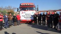 Kızılay'dan Afrin'de Yaşayan Çocuklara Bot ve Mont Yardımı
