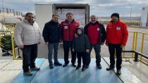 Tuzla Kızılay ve Tuzla Belediyesi'nden Deprem Bölgesine Yardım
