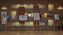 Tuzla Belediyesi Eğitim Birimlerinden Resim ve Maket Sergisi