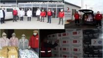 Tuzla'da 'Vefa Projesi' Kızılayla Dalga Dalga Büyüyor