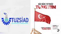 TUZSİAD'tan Milli Dayanışma Kampanyası'na 100 Bin TL'lik Bağış
