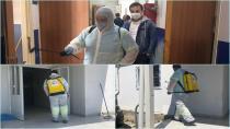 Tuzlaspor Tesisleri Tuzla Belediyesi Tarafından Dezenfekte Edildi