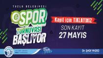 Tuzla'da ESPOR Turnuvası