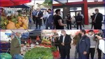 Yayla Mahallesi Semt Pazarında Korona Virüs Denetimi Yapıldı