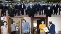 Gönül Elleri Çarşısından Gazilerimize Anlamlı Ziyaret