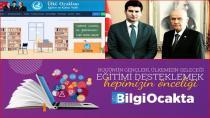 """Türk Gençliğinin Yeni Dijital Platformu """"Bilgi Ocakta"""""""