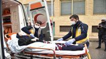Tuzla'da Kar Yağışına Rağmen Ambulans Hizmeti Devam Etti