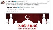 """Tuzla Belediye Başkanı Dr. Şadi Yazıcı,""""Sen Bir Meczupsun, Senin İçin De Dua Edeceğiz"""""""