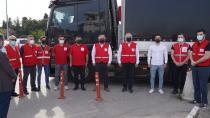 Tuzla'dan 170'inci Yardım Tırı Cinderes'e Doğru Yola Çıktı