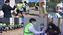 Tuzla'da Gençlerden 65 Yaş Üstü Büyüklere Sürpriz Bayram Ziyaret
