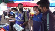 Tuzla'da Balıkların Boyları Tek Tek Ölçüldü
